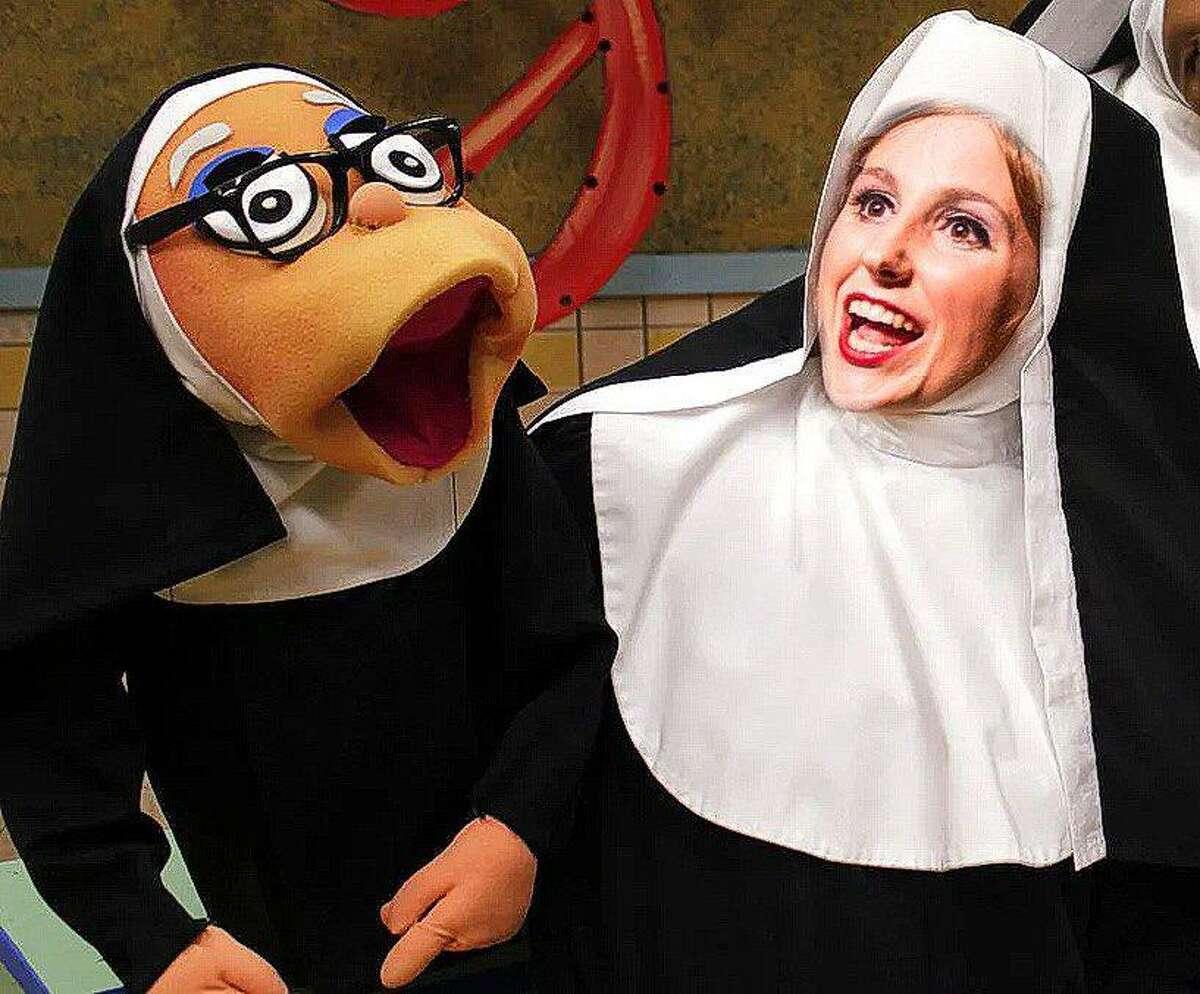 "Sara Preisler as Sister Mary Amnesia in Stage Right's ""Nunsense"" coming to the Crighton Theatre April 9-25."
