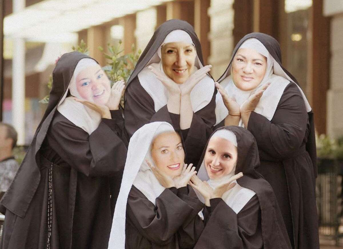 """Stage Right of Texas presents """"Nunsense"""" April 9-25 at the Crighton Theatre."""