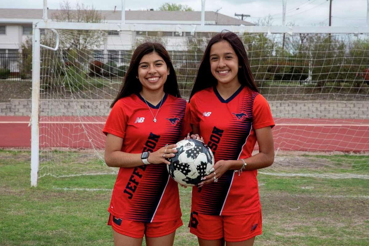 Sisters Janielle and Arianna Solis are among the area's leading goal scorers. The sister play for Jefferson and have have loved being able to play on a team together.