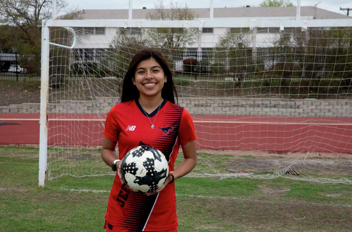 Janielle Solis, a senior from Jefferson, is one of the top goal scorers in the city.