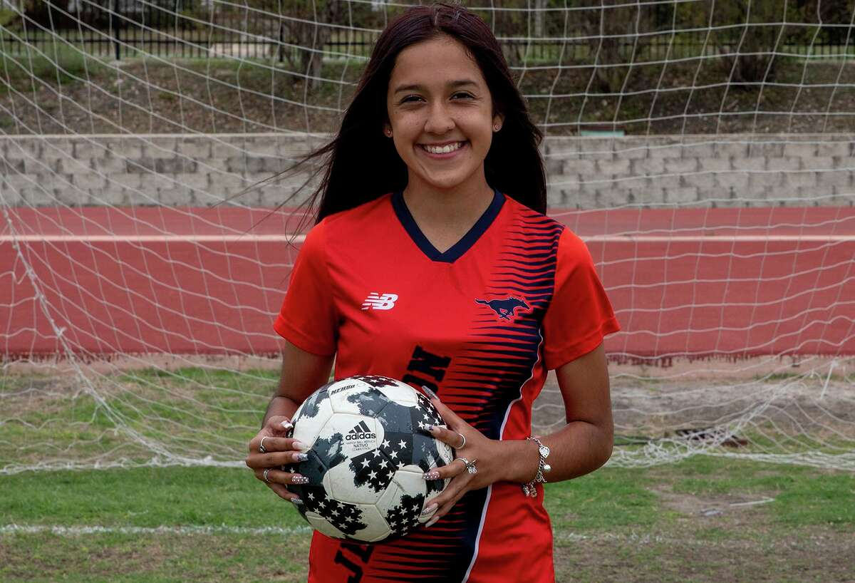 Arianna Solis, a sophomore from Jefferson, is one of the top goal scorers in the city.