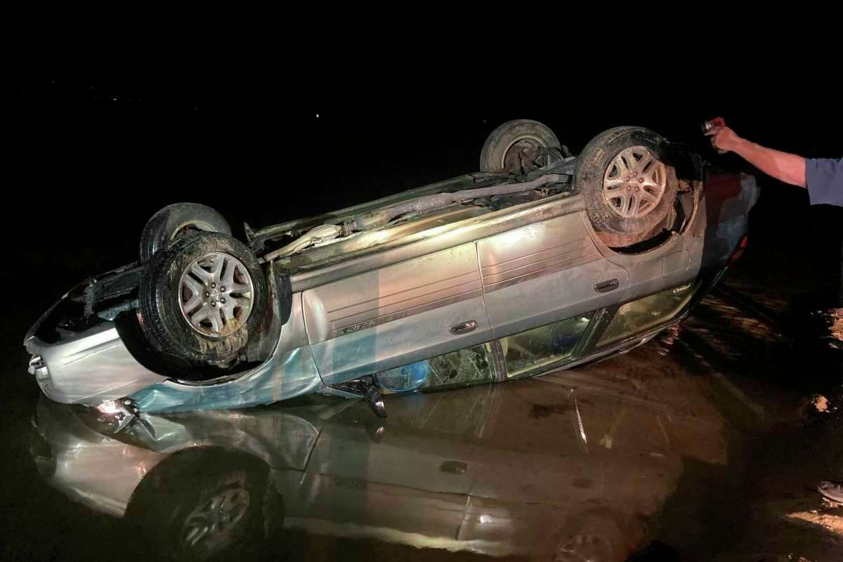 Michigan State Police Cadillac Post troopers were called to a rollover crash on Buttwell Road in September on the north side of Bear Lake where the vehicle was upside down in the lake, according to a news release from state police last year. (Courtesy photo/MSP)