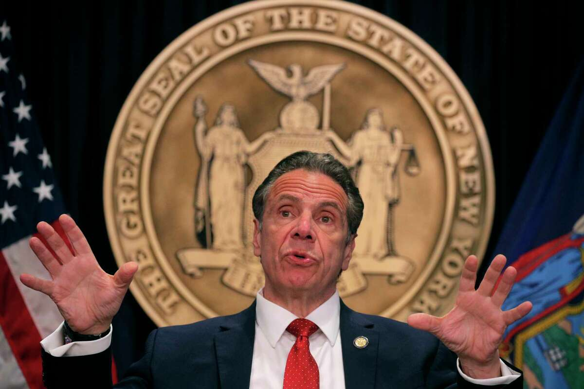 FILE. Letter writer says, 'I have been surprised by the implication in recent Times Union articles and editorials that Gov. Andrew Cuomo's effectiveness is now being hampered by his long-term failure to cultivate friends and allies in the Legislature willing to defend him.' (Pool/Getty)