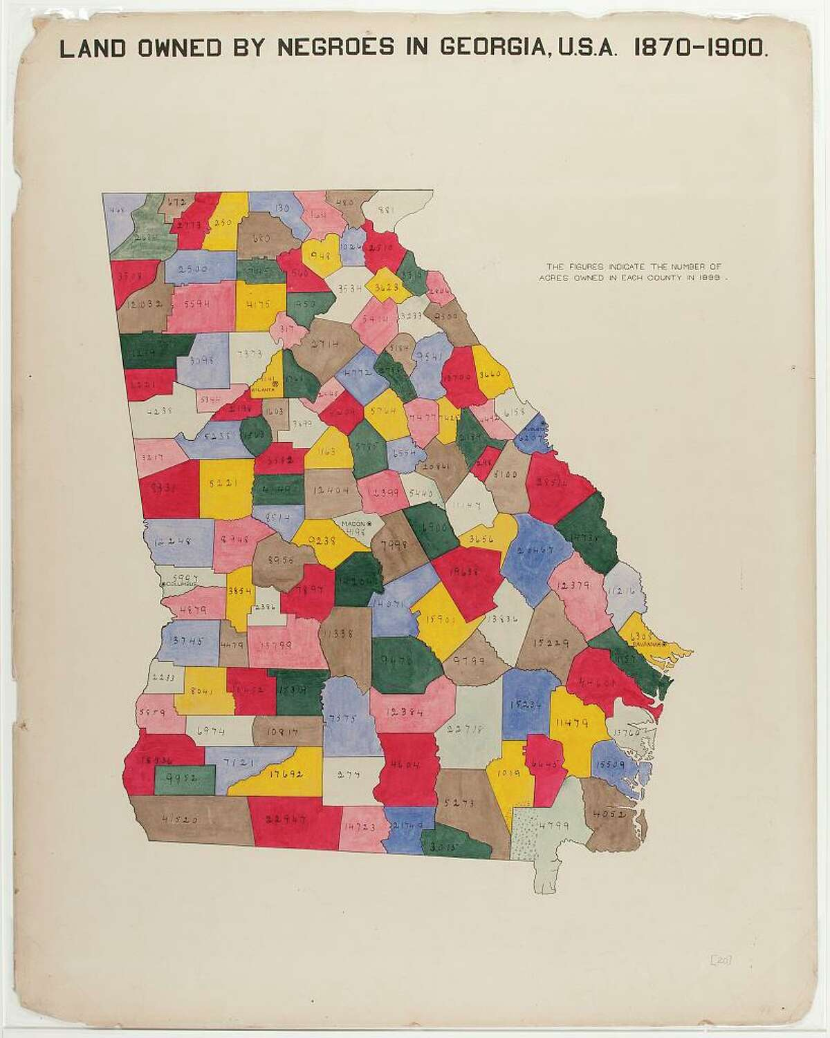 Artspace in New Haven will debut a new exhibit this weekend with artwork from W.E.B. Du Bois.