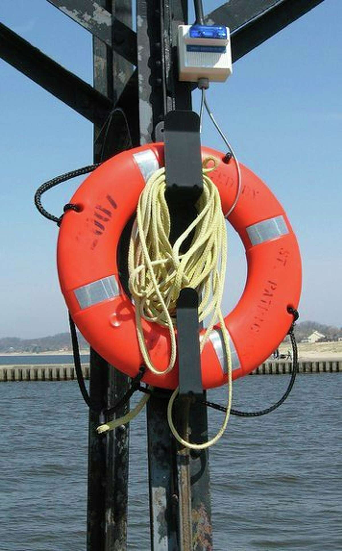 Life-saving equipment is one tactic to prevent drownings on the Great Lakes. (Courtesy photo/Michigan Sea Grant)
