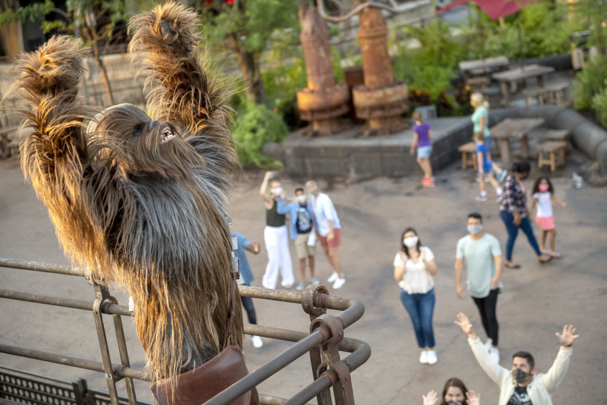 Now that Disneyland is open, Star Wars: Galaxy's Edge has changed