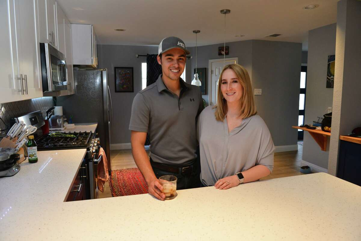 Daniel and Lauren Willis moved into their new house last winter.