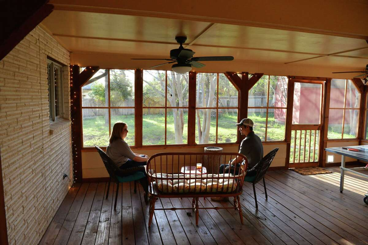 Daniel and Lauren Willis are enjoying their new home in North Central San Antonio.