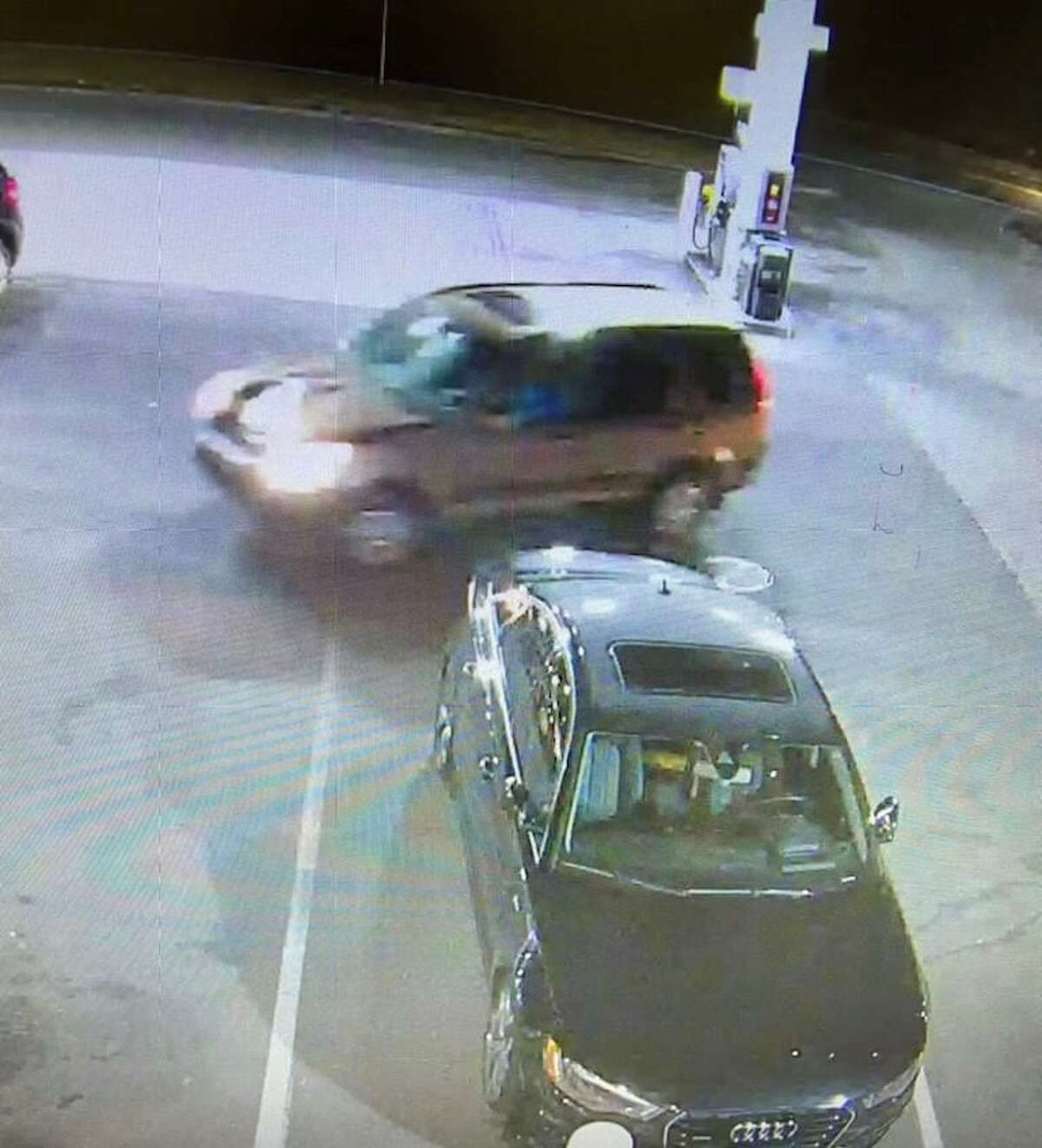Waterbury police are asking for the public's help locating this vehicle, described as a gold or tan-colored Honda CRV, after they said it was involved in a fatal pedestrian accident Tuesday, March 23, 2021