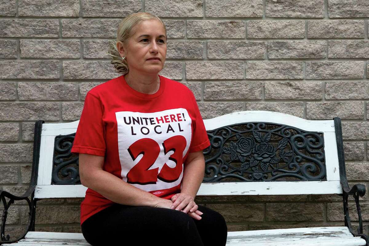 Maria Valez is still out of work after a year from her job at the Grand Hyatt. A new union agreement will give her priority to get her job back when Hyatt does rehire. Without her insurance, Valez, a breast cancer survivor, has skipped her routine screenings.