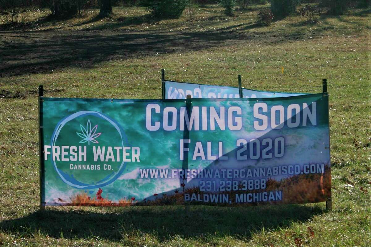 Due to construction delays, the Fresh Water Cannabis Company marijuana retail store in Baldwin has had to push back their completion date. The facility is now nearing completion and plans are to open by the end of the month. (Star file photo)
