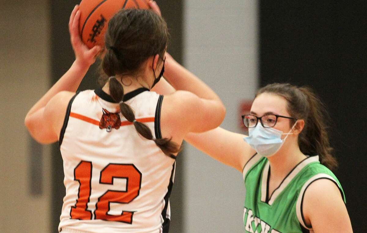 The Ubly girls basketball team opened its postseason on Wednesday evening with a 55-11 win over Akron-Fairgrove in the district semifinals. It was Ubly's sixth win in a row and 11th in 12 games.