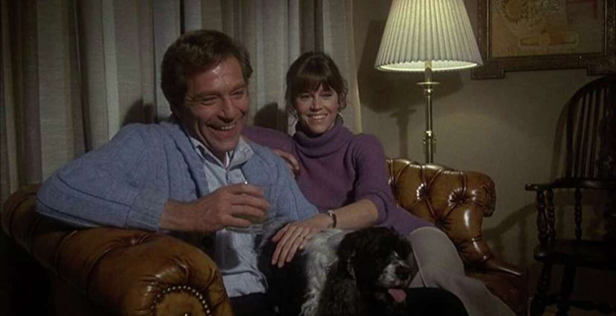 "George Segal and Jane Fonda in ""Fun With Dick and Jane."""