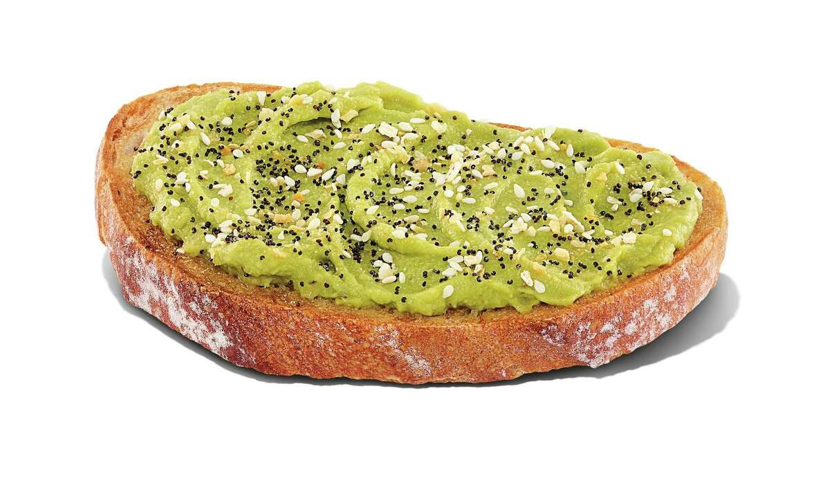 Dunkin' has introduced avocado toast to its spring menu, with avocado spread on sourdough toast and everything bagel seasoning.