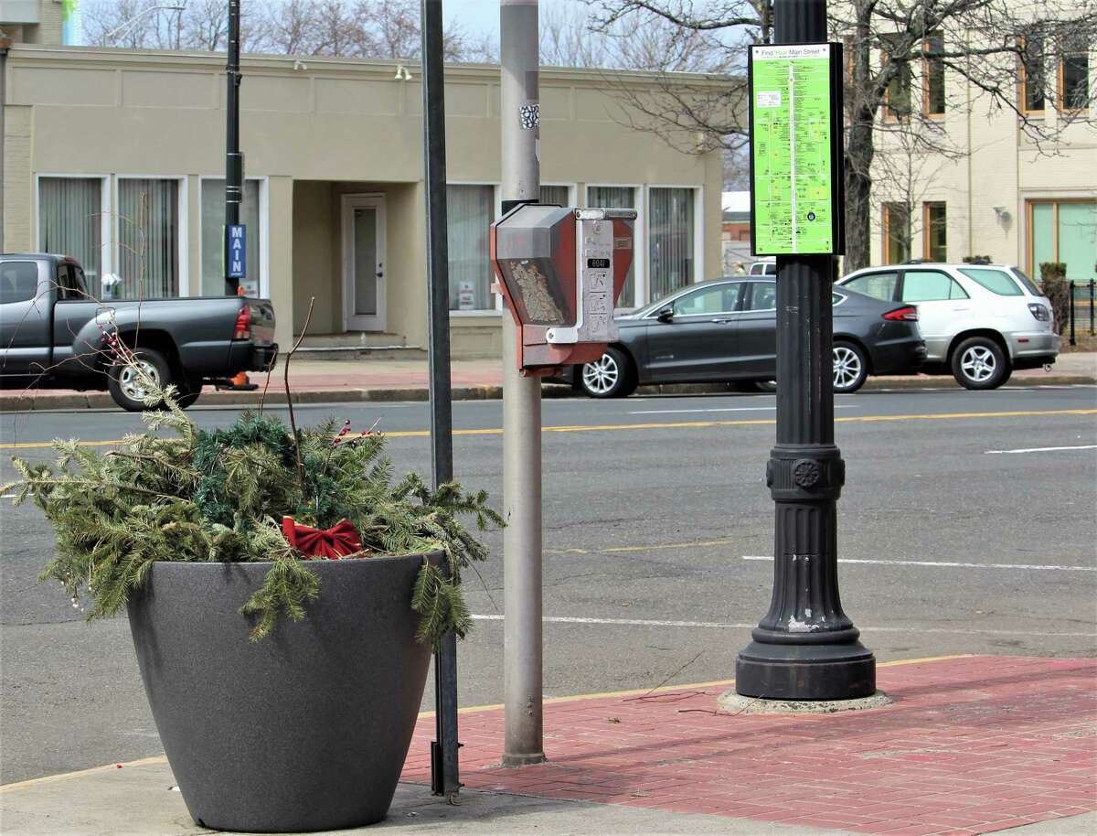 Middletown's Downtown Business District has created a grants program so business owners all along Main and its side streets can apply to receive matching funds for any outdoor beautification efforts they're doing during the pandemic. Shown here are planters the DBD fills with flowers and other greenery.
