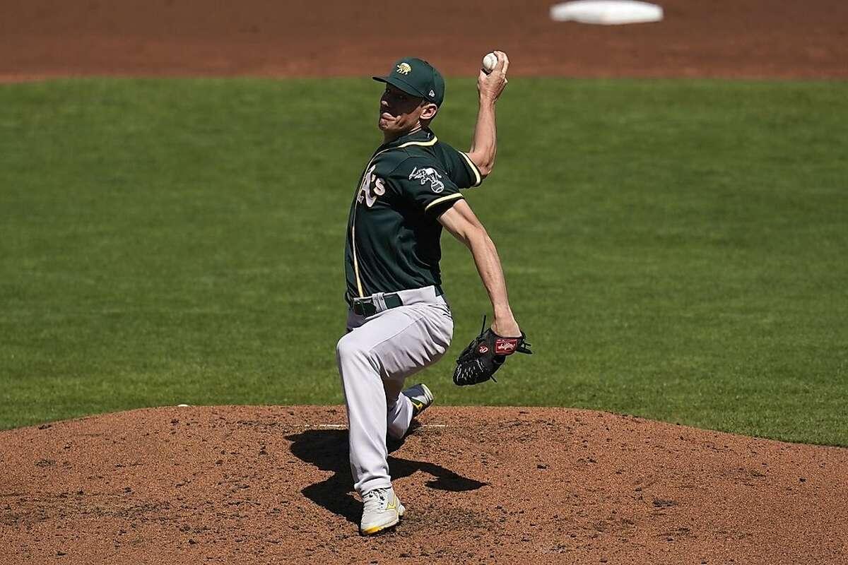 Oakland Athletics pitcher Chris Bassitt will start the April 1 opener against the Astros at the Coliseum. He will oppose Houston right-hander Zack Greinke.