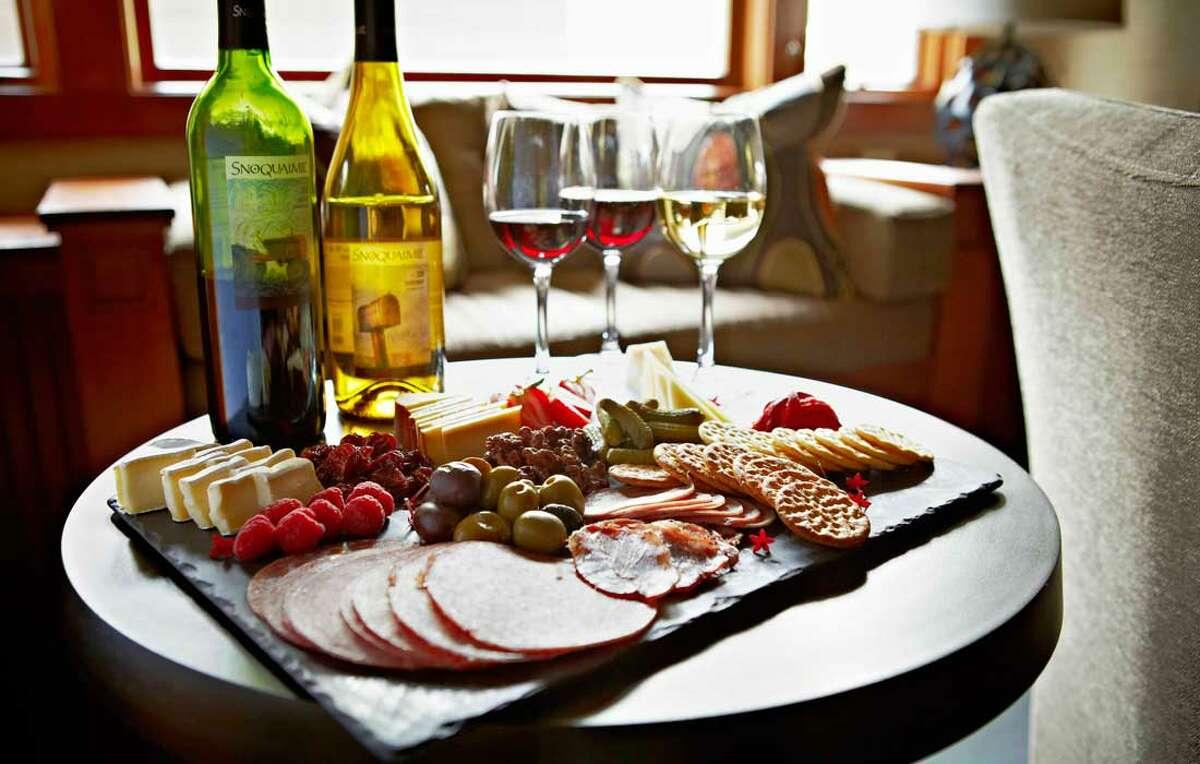 Salish Lodge & Spa in-room wine
