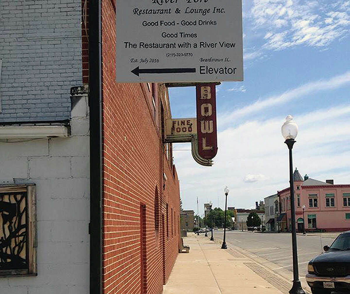 The owners of River Port Restaurant and Lounge in Beardstown want to build a deck that would provide outdoor seating for patrons.