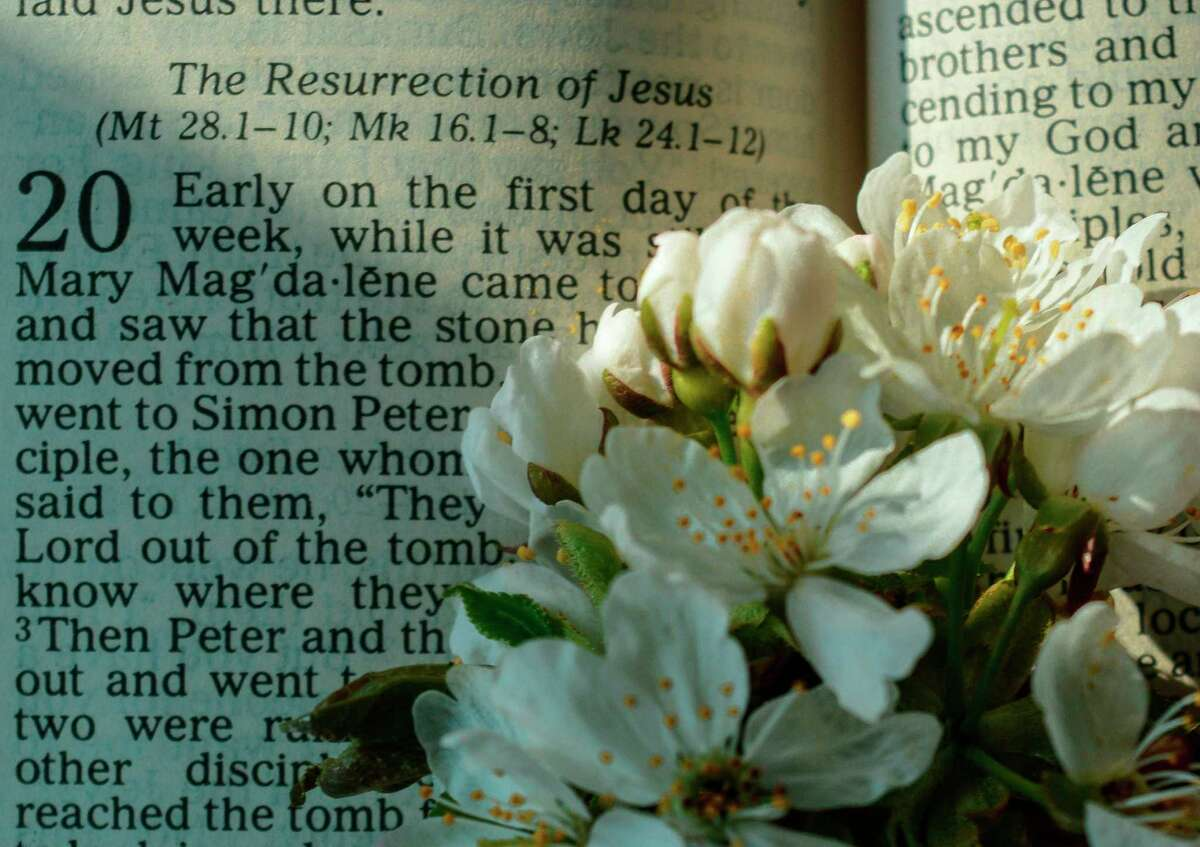 Easter services for many Manistee County churches provide options for in-person and remote worship. (Courtesy Photo/Mary Tilj)