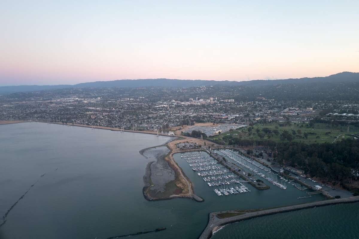 An overview of Coyote Point in San Mateo / Burlingame