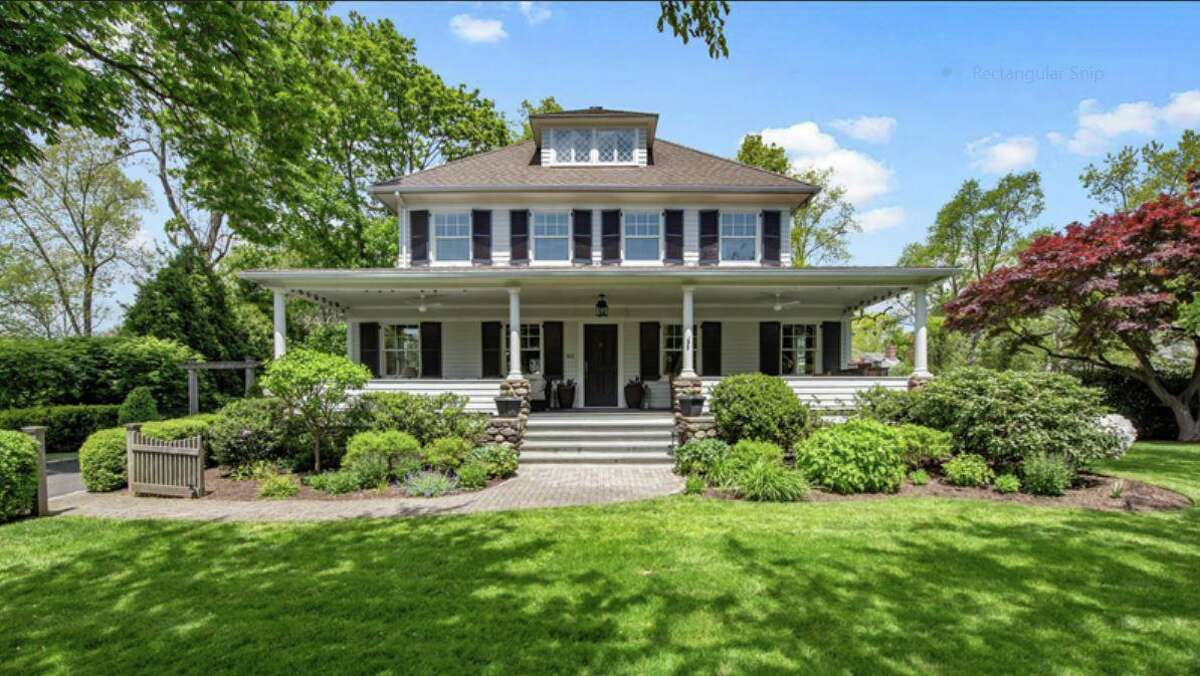 This Old Greenwich house was one of the Berkshire Hathaway HomeServices New England Properties-listed homes that sold in the third quarter of 2020. In total, 17,775 listed homes were sold in Connecticut in the third quarter, up 30 percent from 2019.