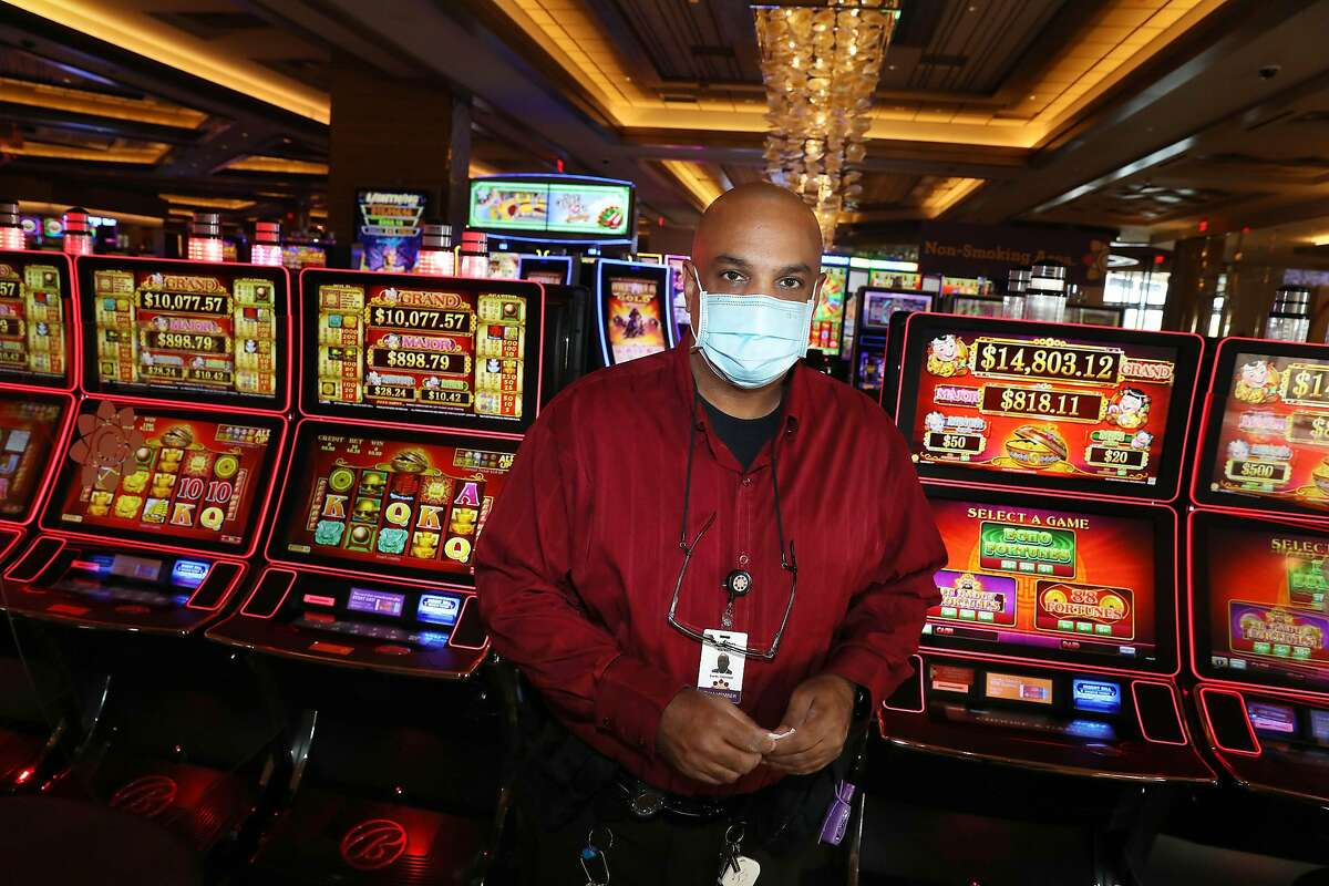 Shanti Duroux's wage increase at Graton casino in Rohnert Park allows him to afford taking college classes.