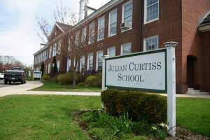 Julian Curtiss School in Greenwich, Conn., photographed on Tuesday, April 14, 2020.