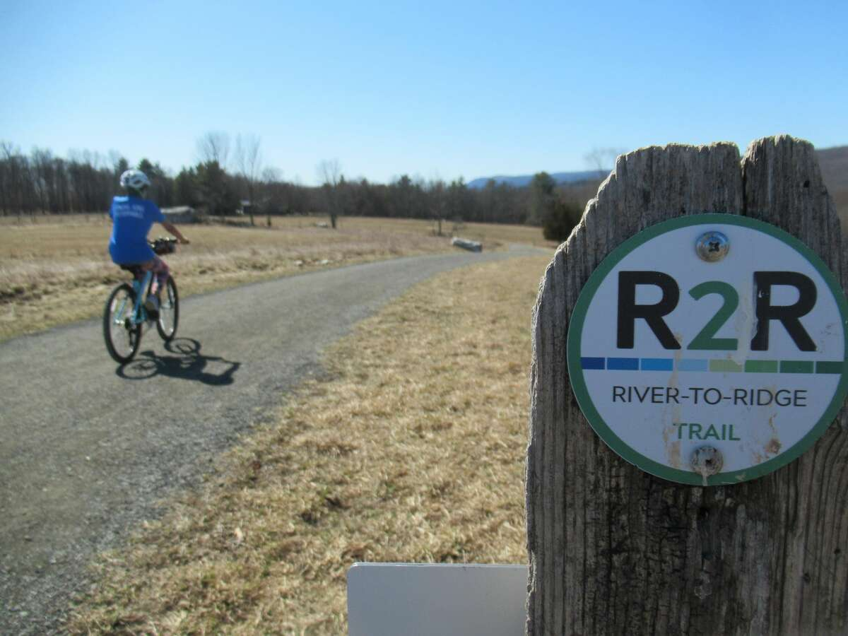 At just 6.2 miles long, the River to Ridge Trail offers an off-road connection between New Paltz and the nearby Mohonk Preserve.