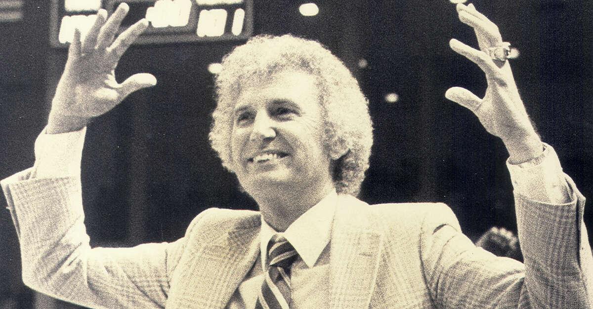 San Antonio Spurs coach Stan Albeck in 1983.