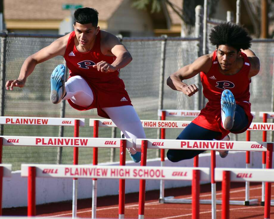 The Plainview track & field team hosted a home meet on Thursday at Greg Sherwood Memorial Bulldog Stadium. Photo: Nathan Giese/Planview Herald