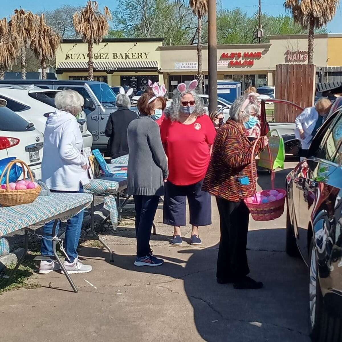 Cypress Fairbanks Association of Retired Educators held a book and food drive for Cypress Assistance Ministries, and other members of the community recently donated more.