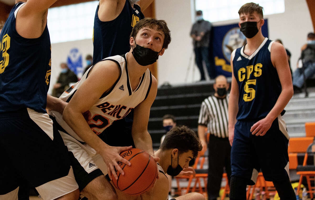 The Ubly boys basketball team punched its ticket to the district championship game with a 50-15 blowout of Carsonville-Port Sanilac on Thursday night. The Bearcats will take on North Huron at 1 p.m. Saturday for the district title.