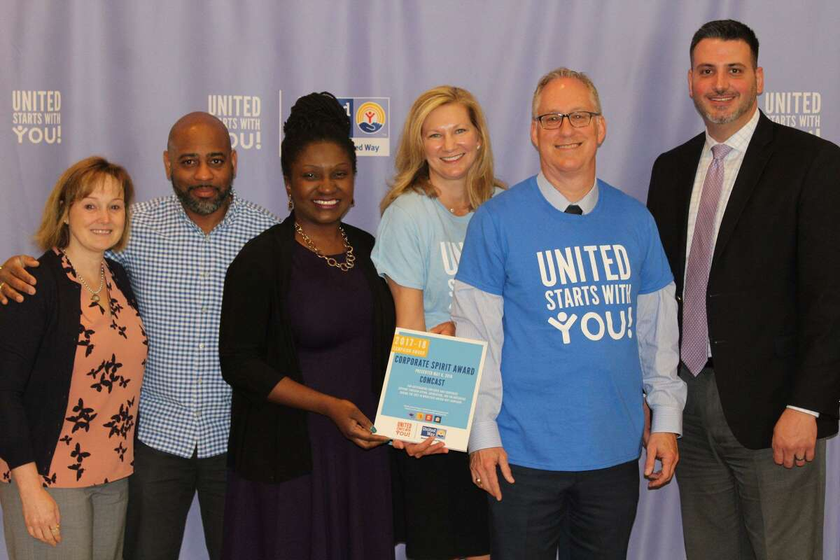 Middlesex United Way's annual campaign awards dinner in 2018 honored several community members, businesses and nonprofits in Middletown.