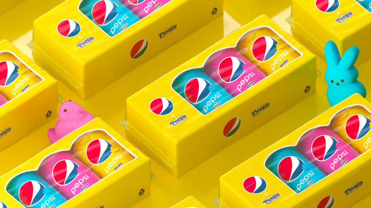 Pepsi and Peeps teamed up to create a limited-edition Marshmallow Cola for spring.