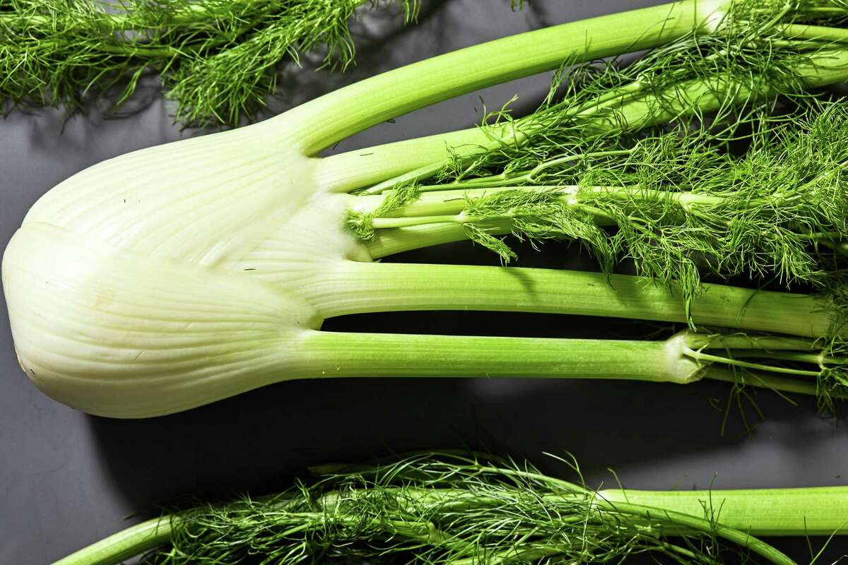 """The entire fennel plant is edible, including the bulb, stalk, fronds, """"seeds,"""" blossoms and even its pollen."""