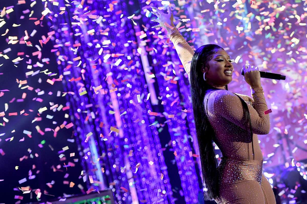 Megan Thee Stallion is the recepient of two NAACP Image Awards. (Photo by Alberto E. Rodriguez/Getty Images for dick clark productions)