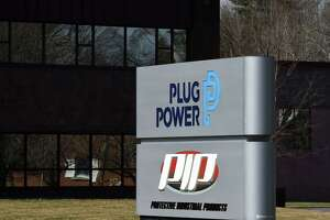 Exterior of Plug Power on Friday, March 26, 2021, in Colonie, N.Y. (Will Waldron/Times Union)