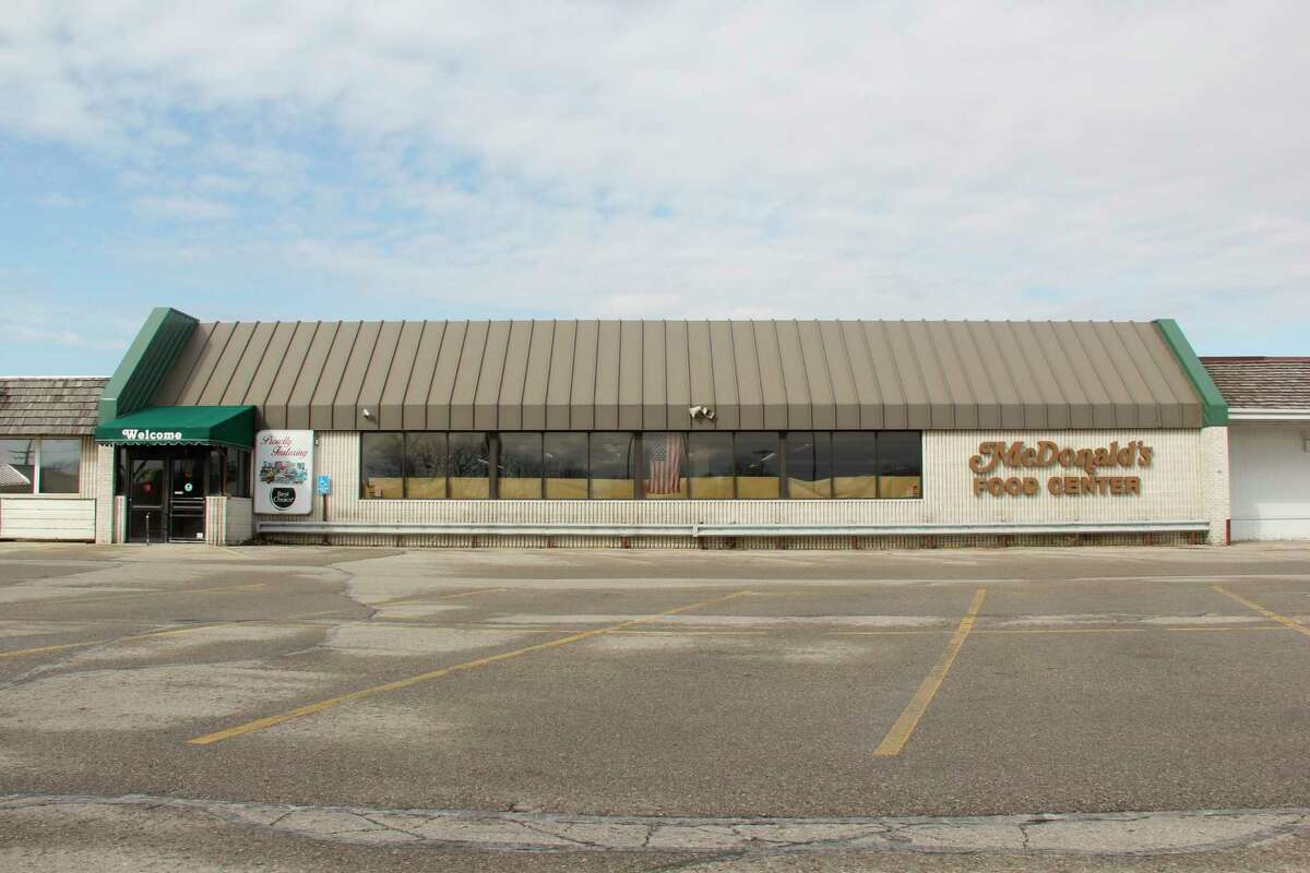 The former McDonald's Food and Family grocery store, which will soon house the Thumb Industries offices and thrift store. Thumb Industries launched the Soar High campaign to help fund the renovations for the move. (Robert Creenan/Huron Daily Tribune)