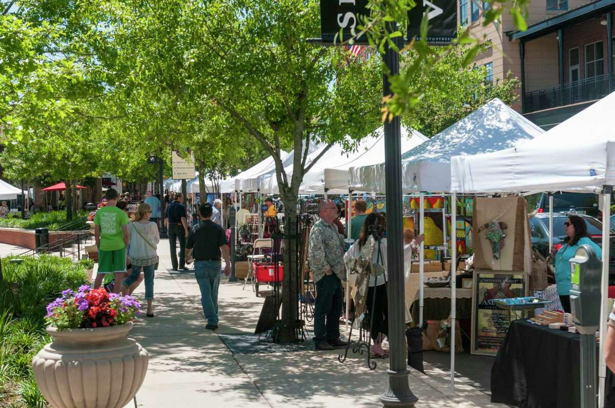 A range of free activities are on tap this spring at Market Street in The Woodlands, from free dance lessons on Tuesday nights to free concerts on Thursday nights, there is fun for all. The Spring Fine Arts Show is Saturday, May 8.