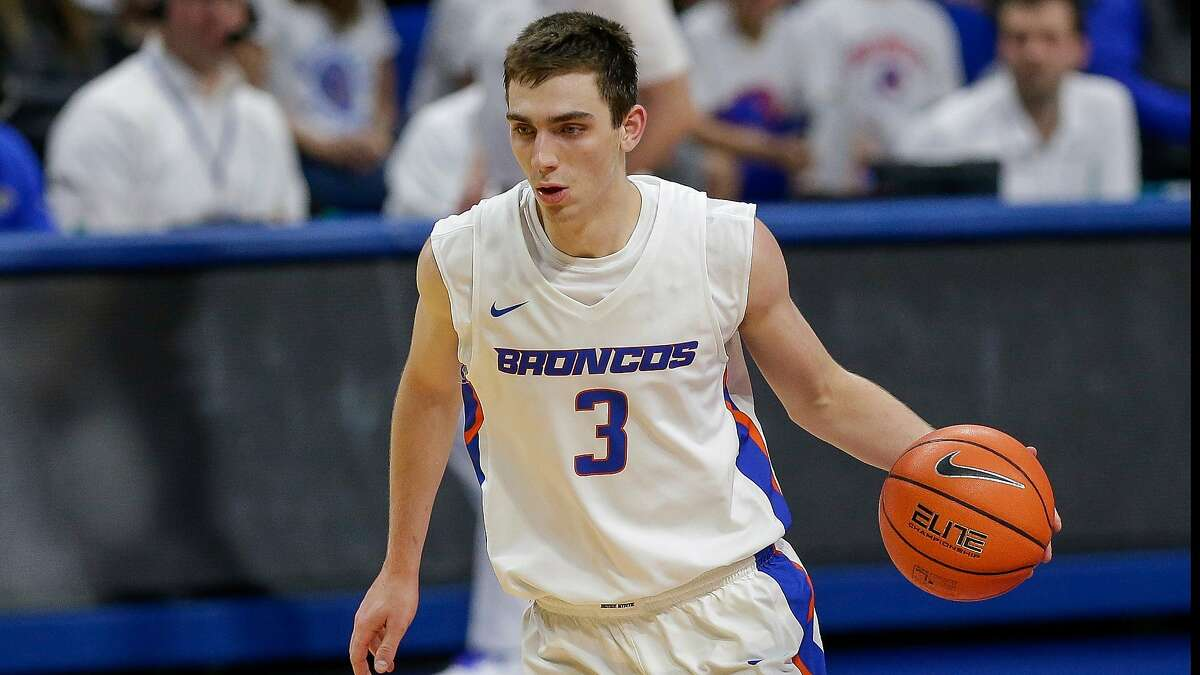 Boise State's Justinian Jessup went No. 51 overall to the Warriors in Wednesday's NBA draft.
