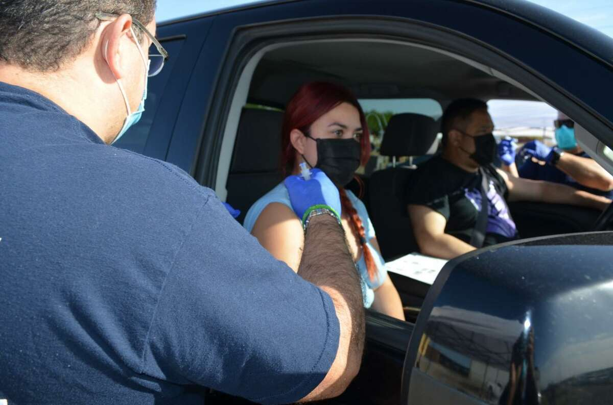 Three-hundred first dose COVID-19 vaccines were administered this week as Webb County continues its vaccination initiative. The event was held at the LIFE Downs Pavilion and was hosted by the Webb County Indigent Care Department. Future events are planned.