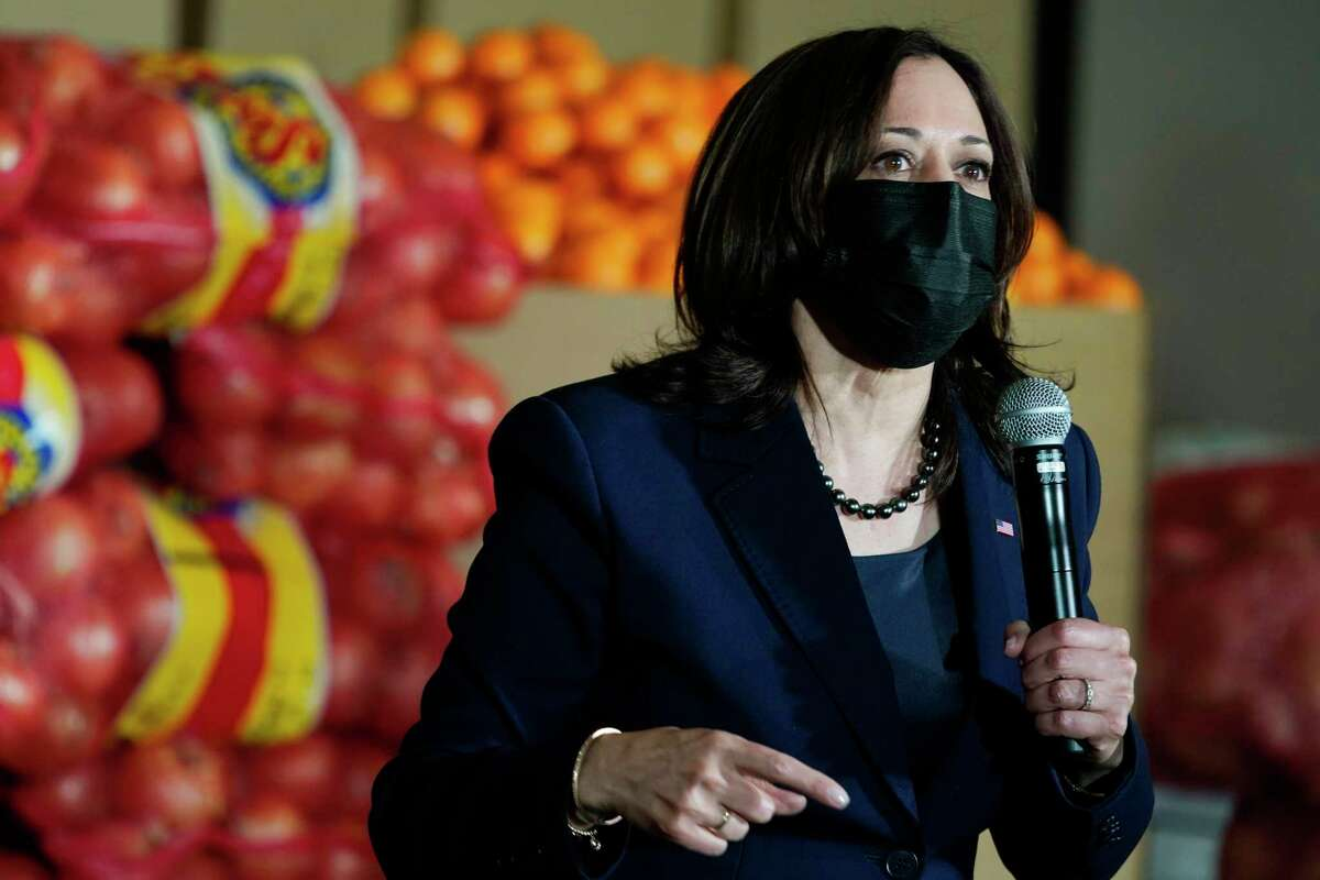 Vice President Kamala Harris, speaking in Las Vegas earlier this month, laughed when a reporter asked if she was visiting the U.S.-Mexico border. It wasn't the type of laugh that made light of the situation, but revealed the seriousness of it.