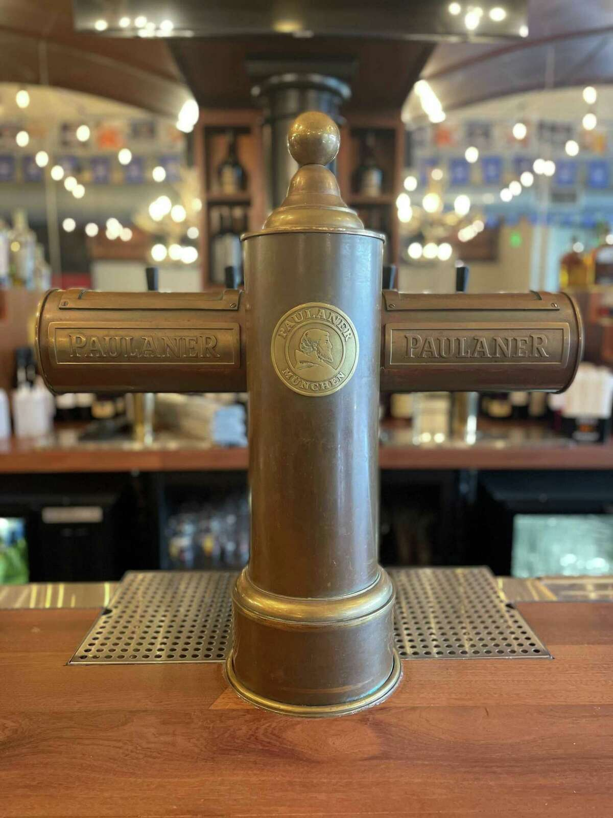 Wurst Haus plans to serve 14 lines of German beers, with another four lines dedicated to beers from Connecticut, Massachusetts and Rhode Island. A signature boot-shaped mug is available for larger pours.
