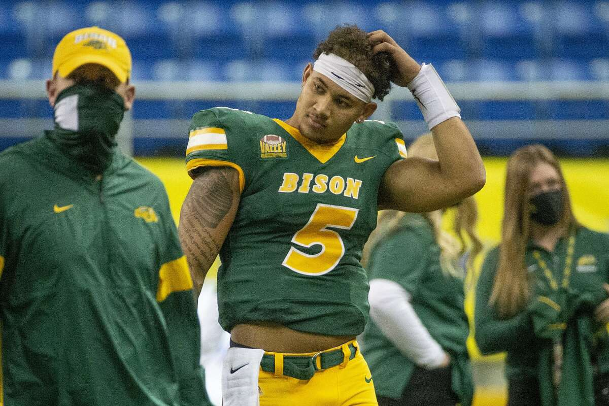 Trey Lance, who made 17 starts for North Dakota State, has drawn comparisons to former Colts QB Andrew Luck.