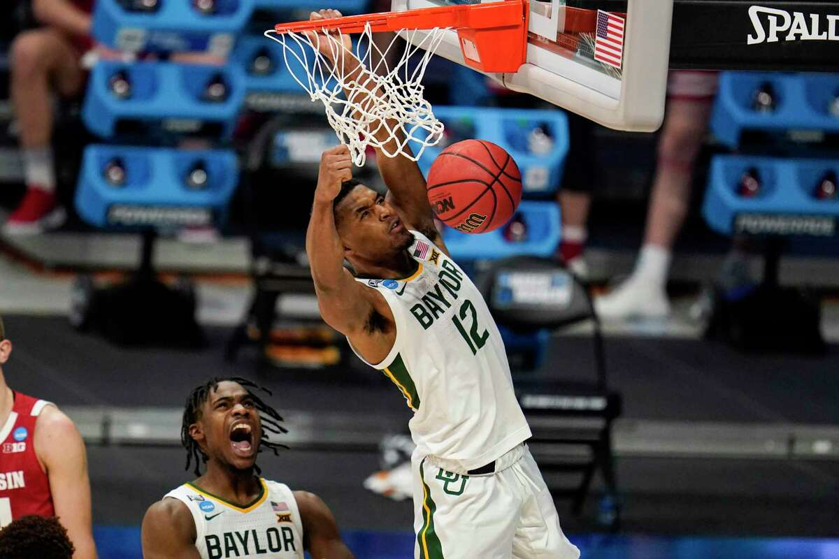Baylor's Davion Mitchell, left, and Jared Butler started their careers at Southeastern Conference schools before transferring to Waco and becoming part of college basketball's best backcourt.