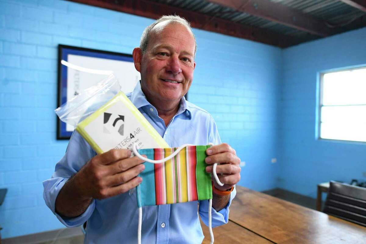Filter4Air owner David Dilling pivoted to making masks and mask filters as COVID-19 shut down schools and other buildings that use his products.