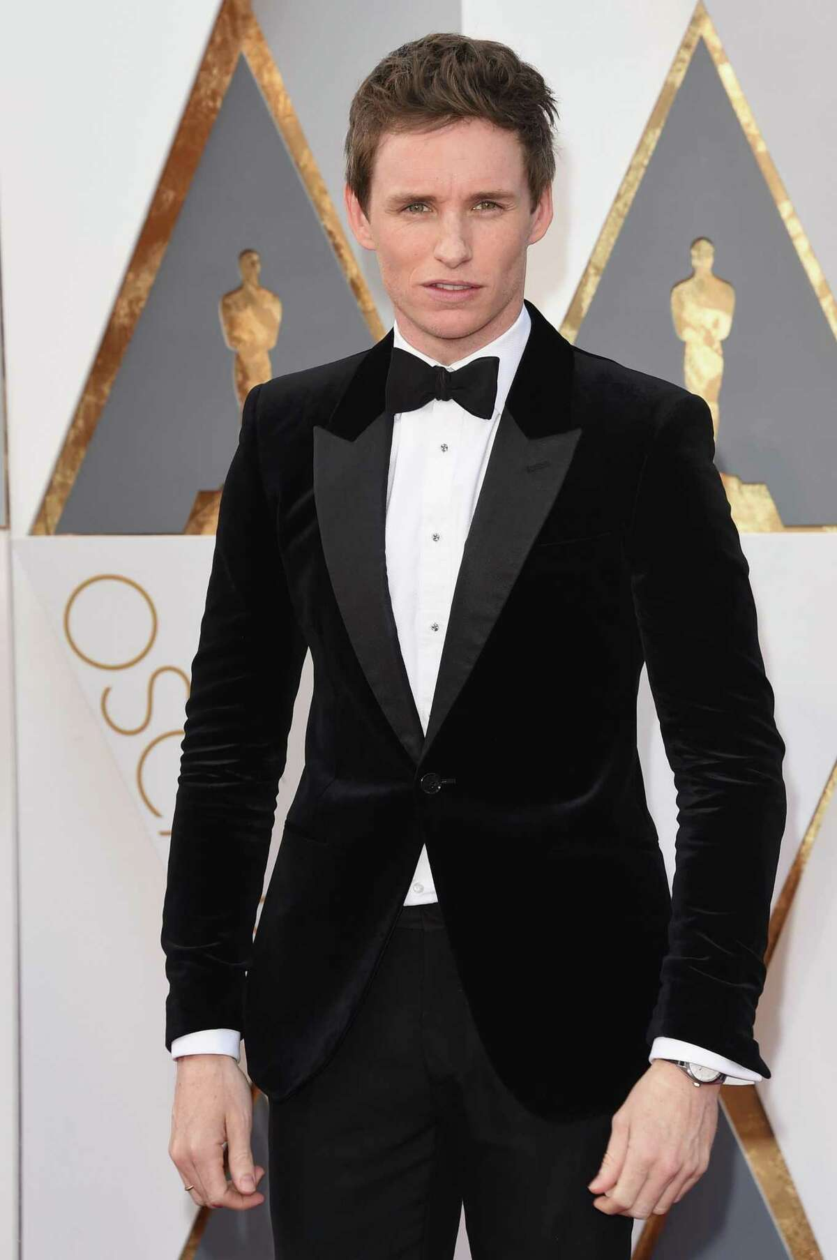 HOLLYWOOD, CA - FEBRUARY 28: Actor Eddie Redmayne attends the 88th Annual Academy Awards at Hollywood & Highland Center on February 28, 2016 in Hollywood, California. (Photo by Jason Merritt/Getty Images)