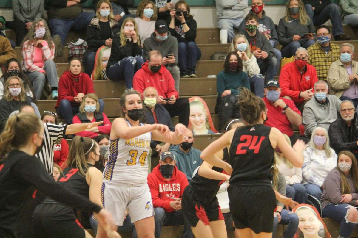 The season has ended for Morley Stanwood with a girls basketball district final loss to Kent City on Friday.