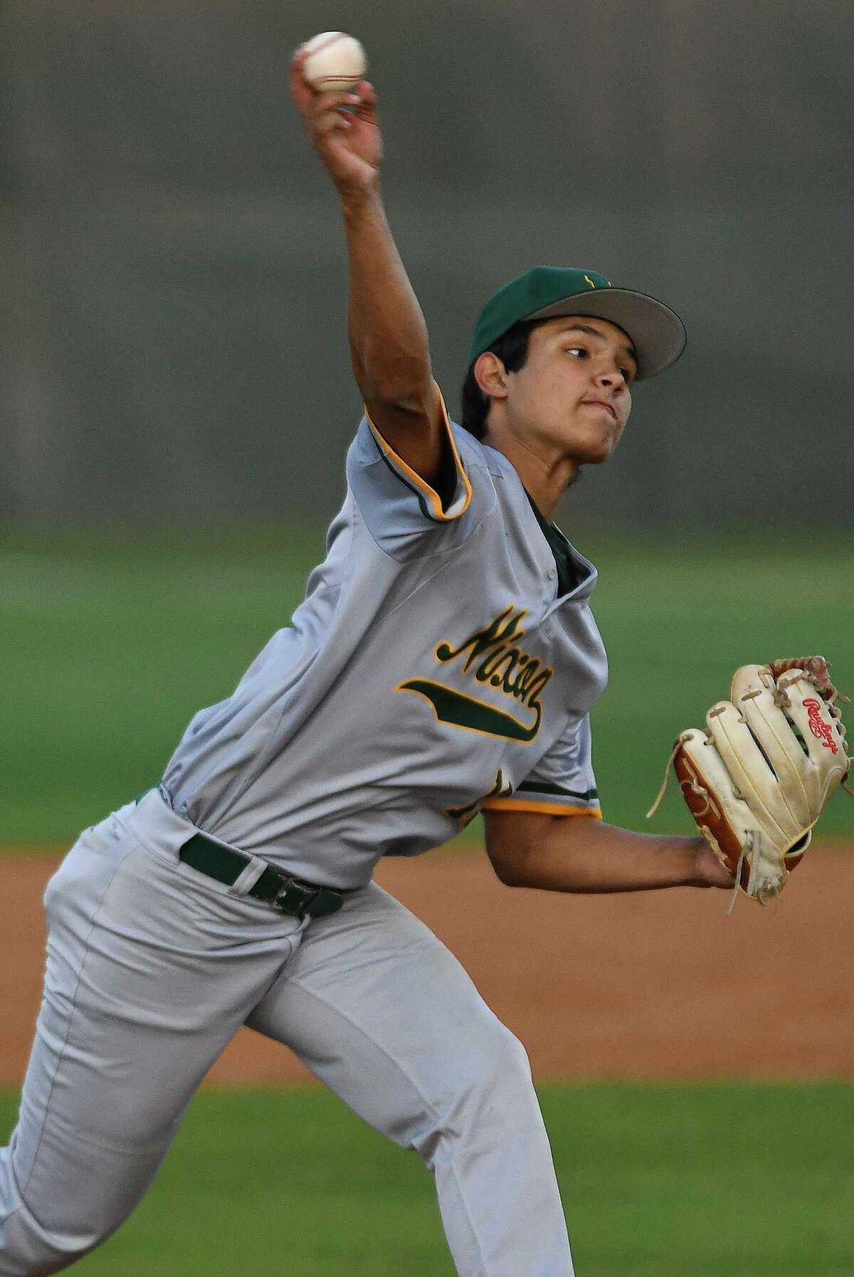Joey Gamez recorded five strikeouts in six innings Wednesday as the Mustangs fell 4-1 at Eagle Pass. Gamez also had two walks in three plate appearances.