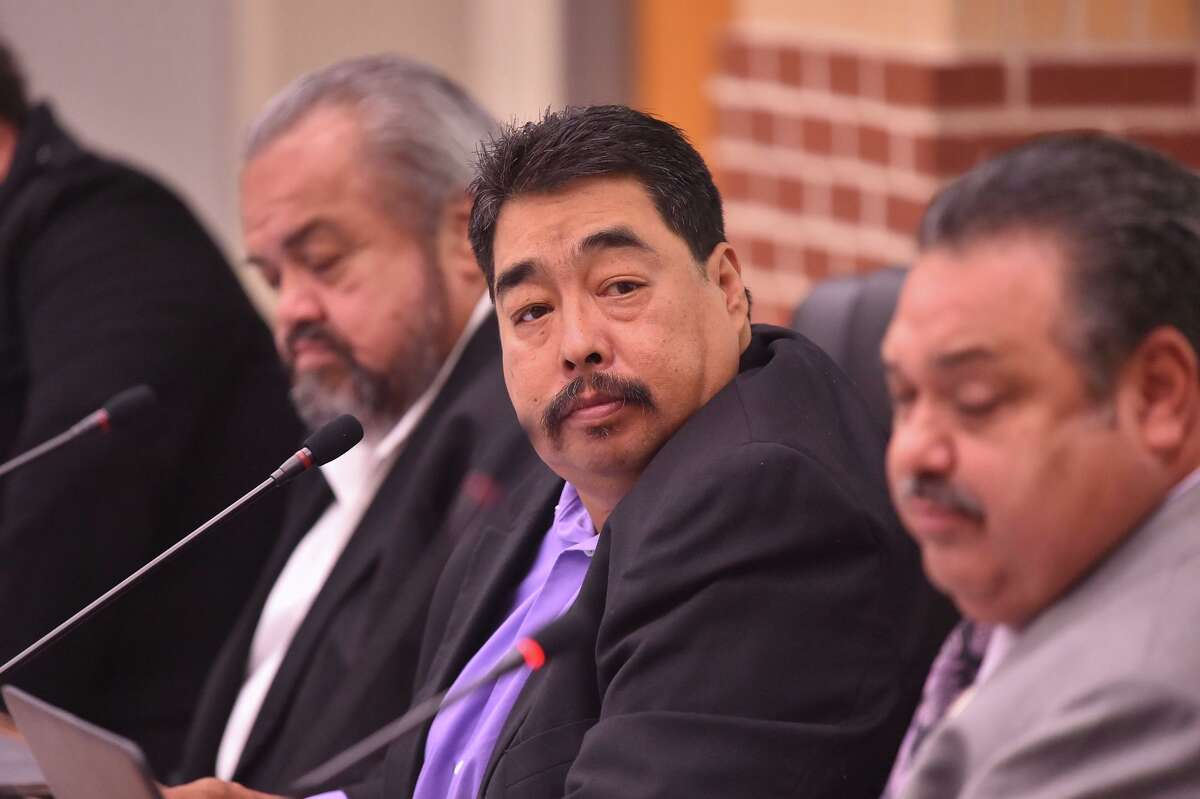 Juan Mancha, 56, vice president of Harlandale ISD's board of trustees, is running unopposed for the District 1 seat.